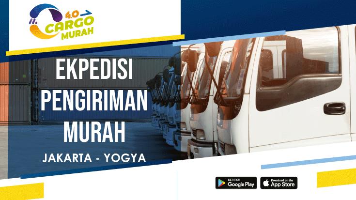 Jasa Ekspedisi Murah Via Cargo Darat Jakarta Jogjakarta