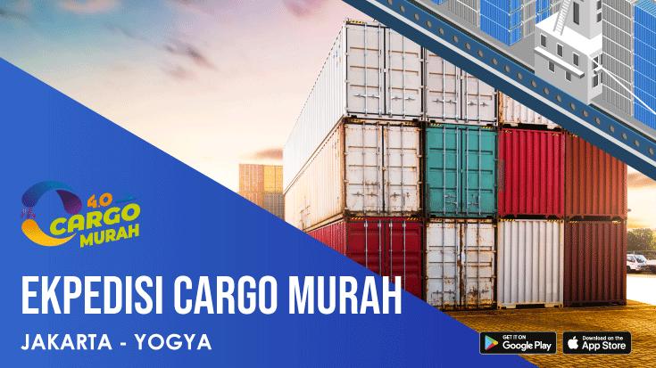 Ekspedisi Murah Cargo Darat Jakarta Jogjakarta