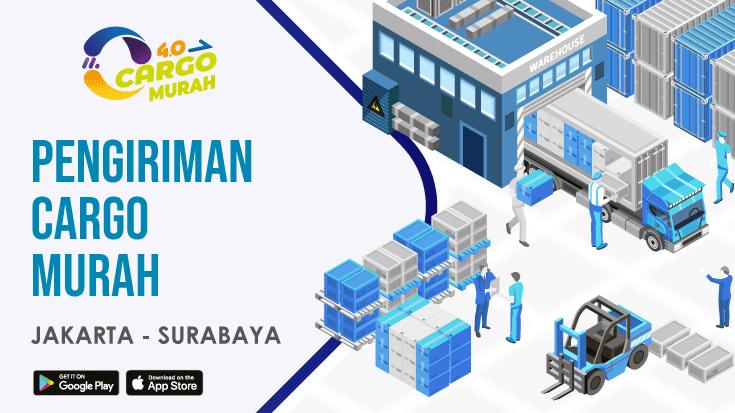 Ekspedisi Cargo Darat Jakarta Surabaya