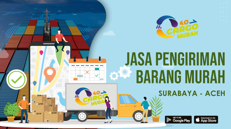 Jasa Cargo Surabaya Aceh