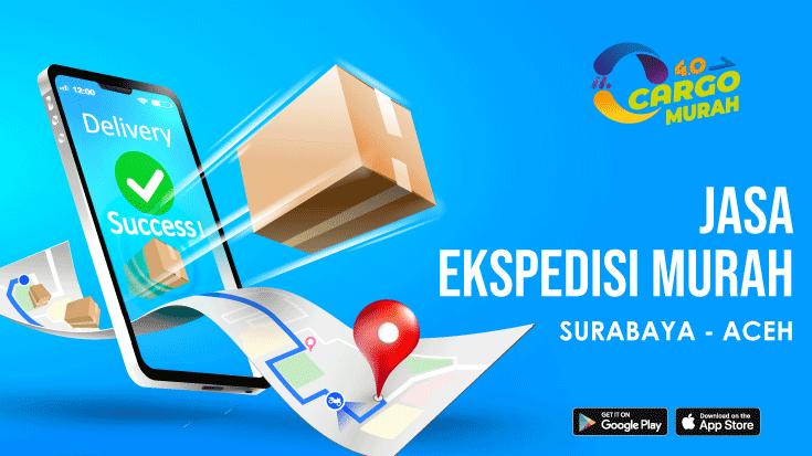 Ekspedisi Murah Cargo Darat Surabaya Aceh