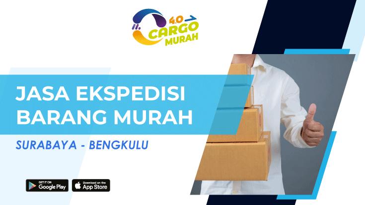 Jasa Pengiriman Murah Surabaya Bengkulu