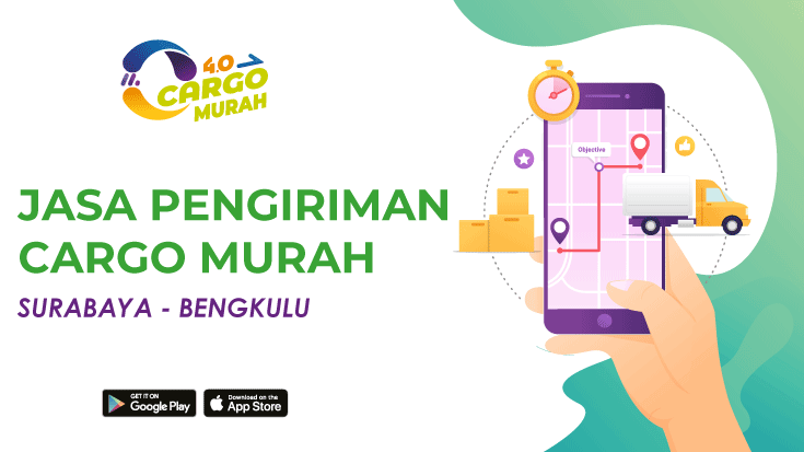 Cargo Darat Murah Surabaya Bengkulu