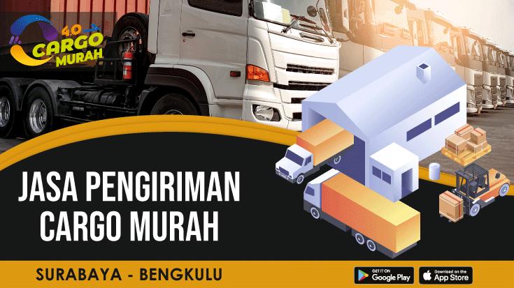 Ekspedisi Cargo Darat Surabaya Bengkulu