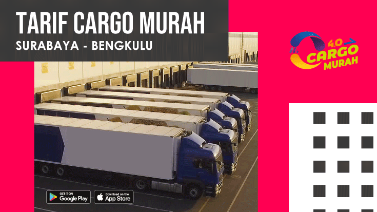 Cargo Murah Surabaya Bengkulu