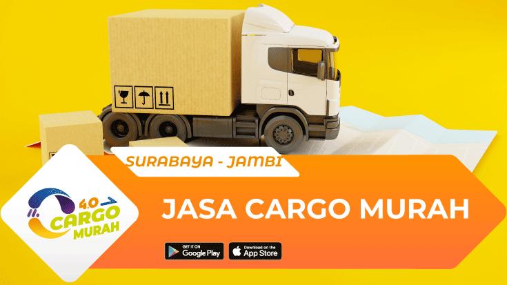 Jasa Pengiriman Barang Surabaya Jambi