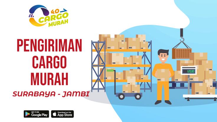 Jasa Cargo Via Darat Surabaya Jambi