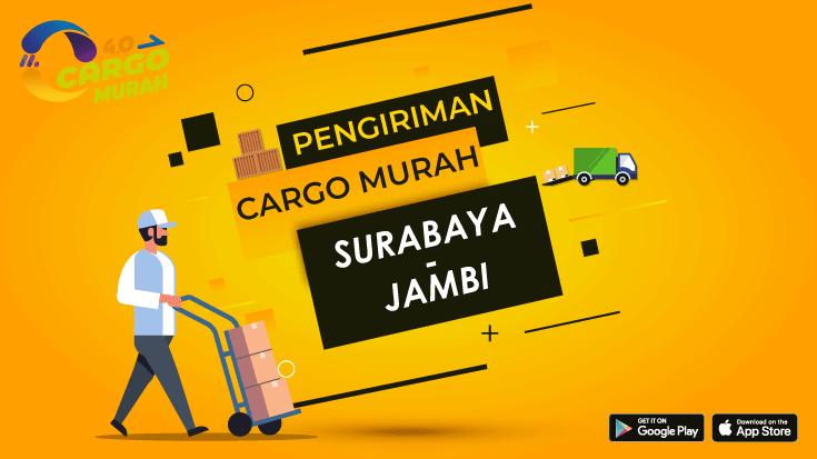 Jasa Ekspedisi Cargo Darat Surabaya Jambi