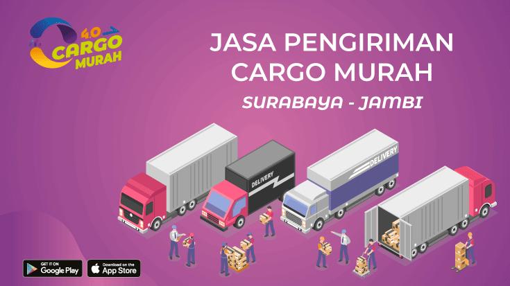 Jasa Cargo Surabaya Jambi