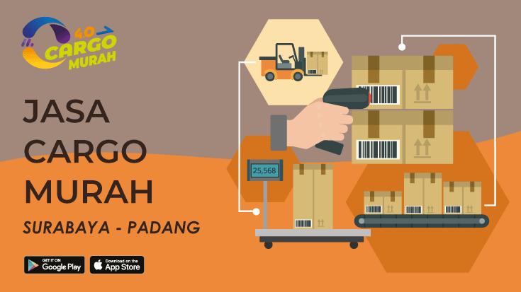 Jasa Cargo Darat Surabaya Padang