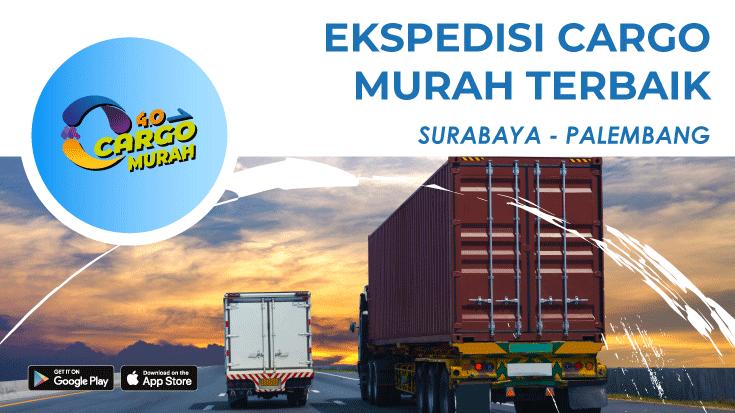 Jasa Ekspedisi Via Cargo Darat Surabaya Palembang