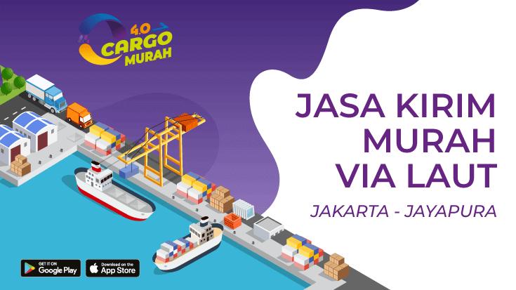 Jasa Pengiriman Barang Murah Dari Jakarta ke Jayapura