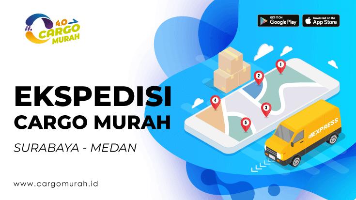 Jasa Ekspedisi Surabaya ke Medan