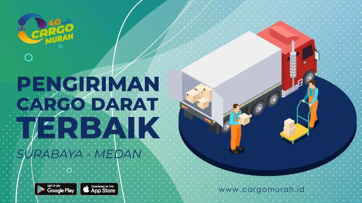 Ekspedisi Murah Surabaya ke Medan