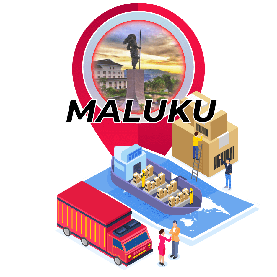 Tarif Ekspedisi Murah Surabaya ke Maluku