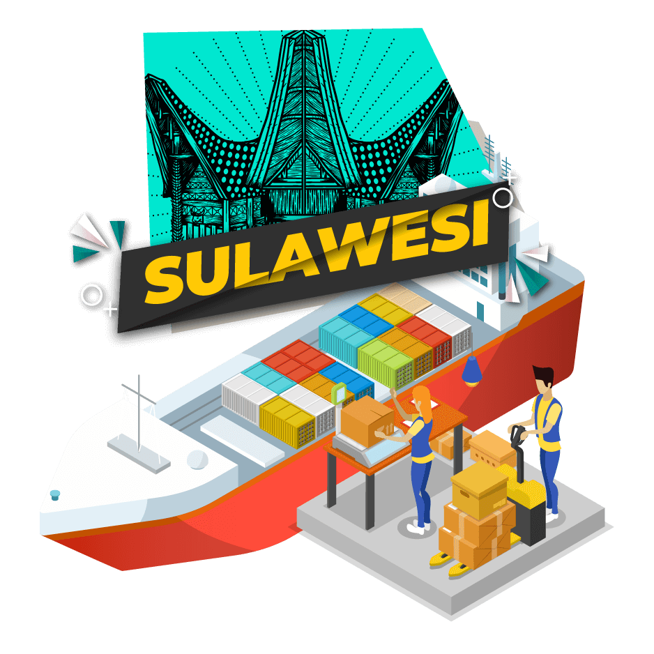 Cargo Laut Jakarta Sulawesi