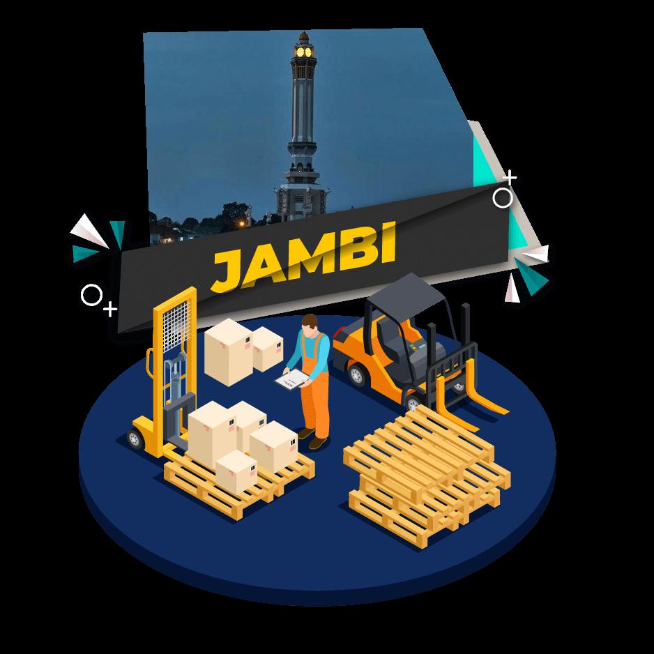 Cargo Darat Jakarta Jambi