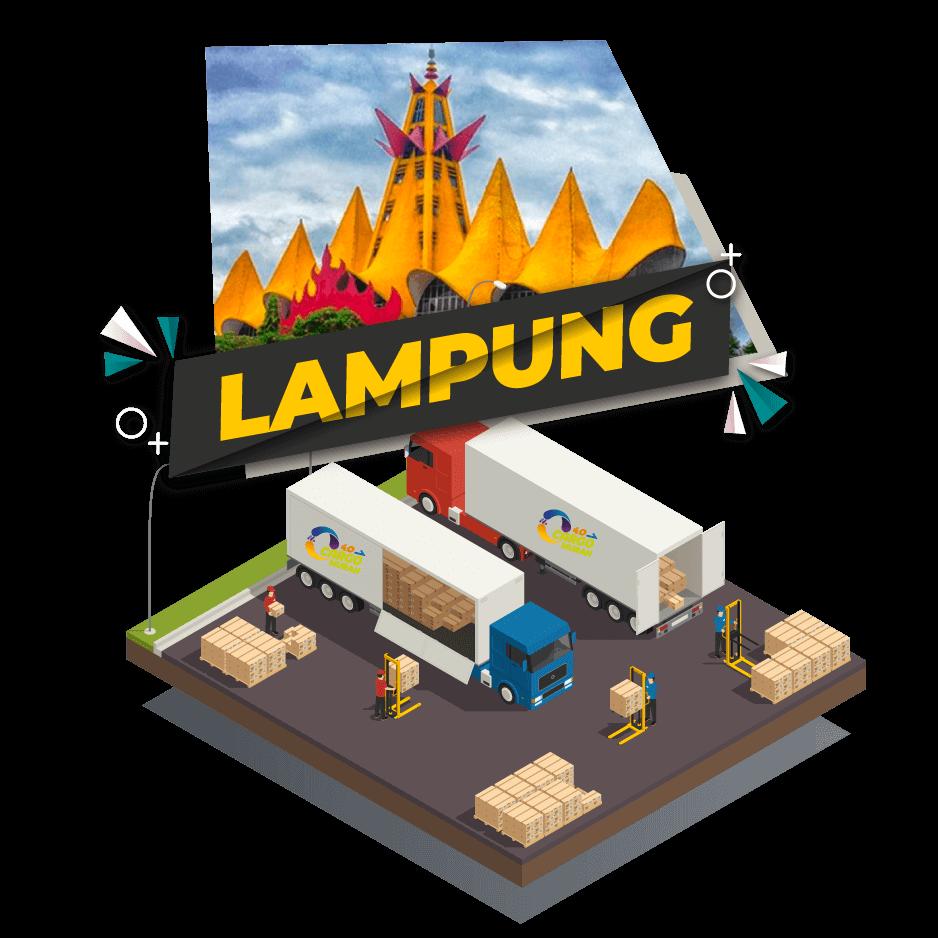 Cargo Darat Jakarta Lampung