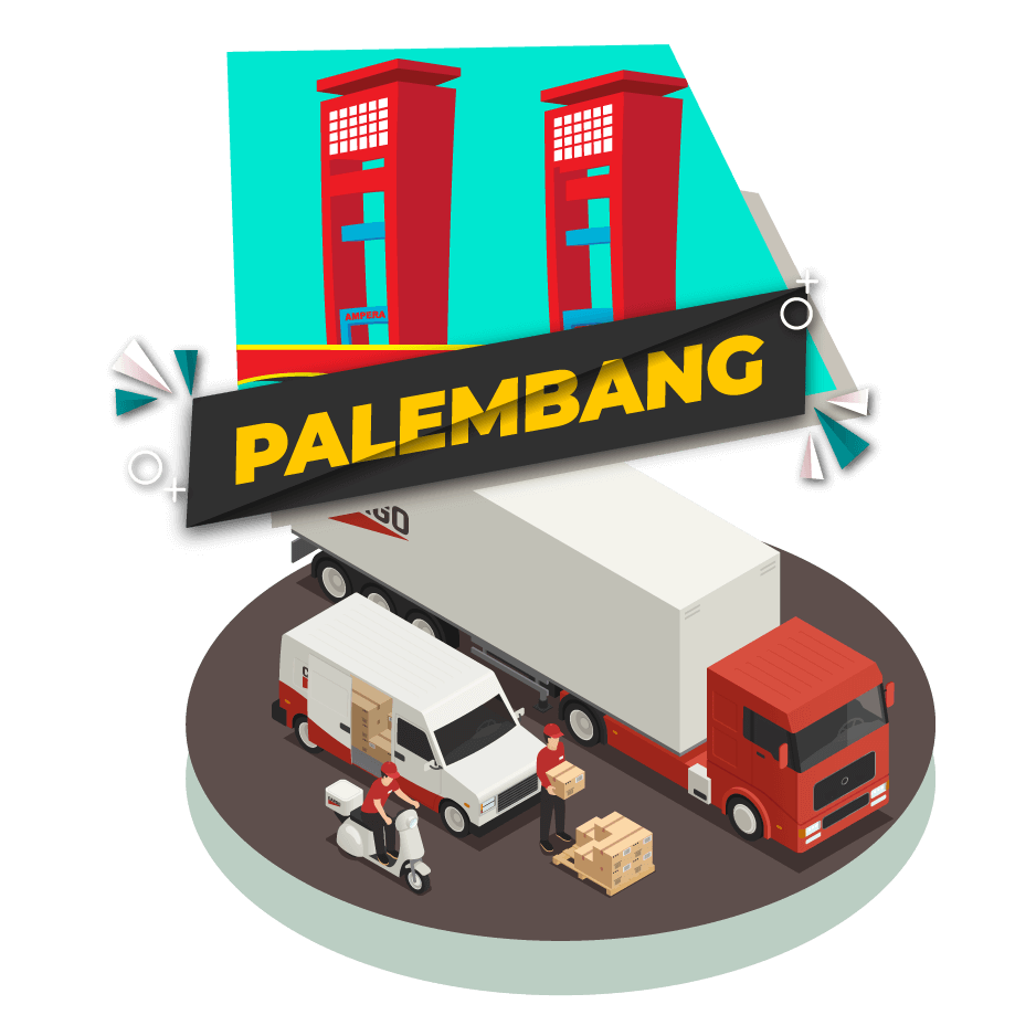 Cargo Darat Jakarta Palembang