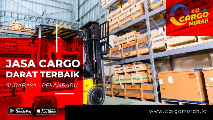 Cargo Dari Surabaya ke Pekanbaru