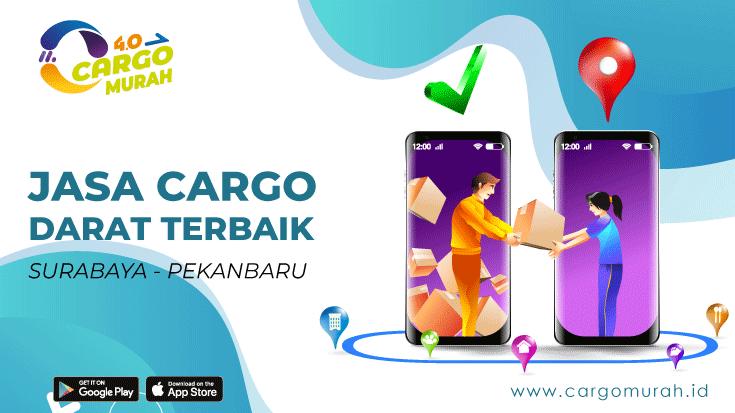 Cargo Darat Surabaya ke Pekanbaru