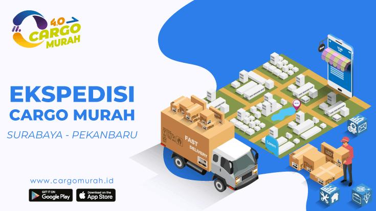 Jasa Cargo Murah Surabaya ke Pekanbaru