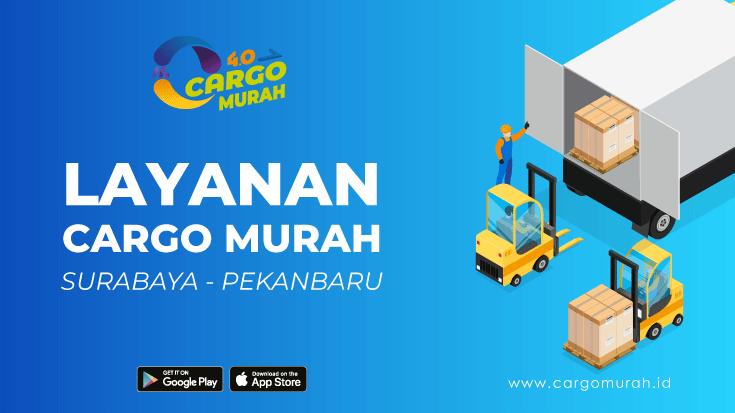 Kargo Termurah Surabaya Pekanbaru