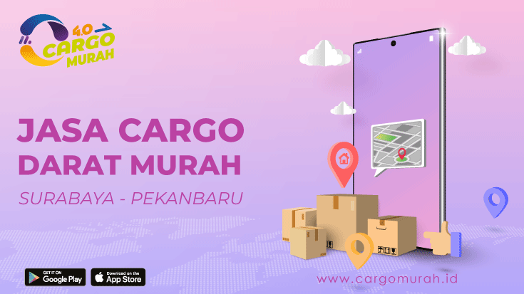 Cargo Murah Surabaya Pekanbaru