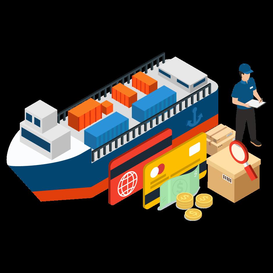 tarif cargo laut dari jakarta