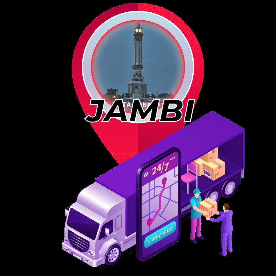 Tarif Ekspedisi Murah Surabaya ke Jambi