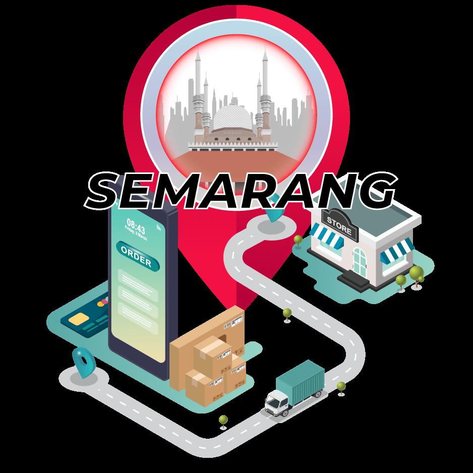 Tarif Ekspedisi Murah Surabaya ke Semarang