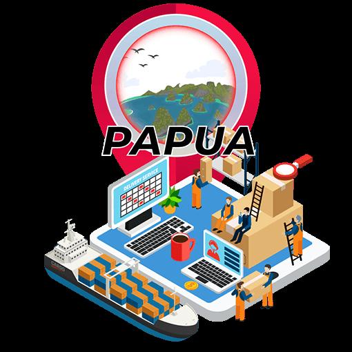 Tarif Ekspedisi Murah Surabaya ke Papua