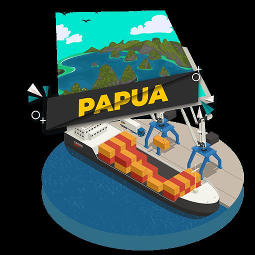 Cargo Laut Jakarta Papua